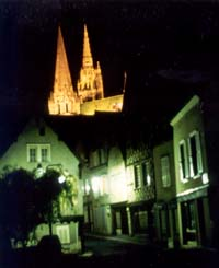 Chartres in France