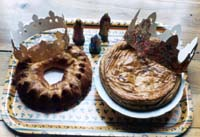 Gallettes des Rois, cakes of kings